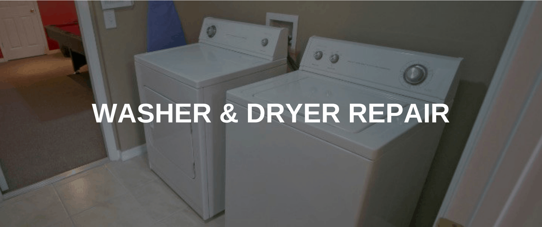 washing machine repair north las vegas