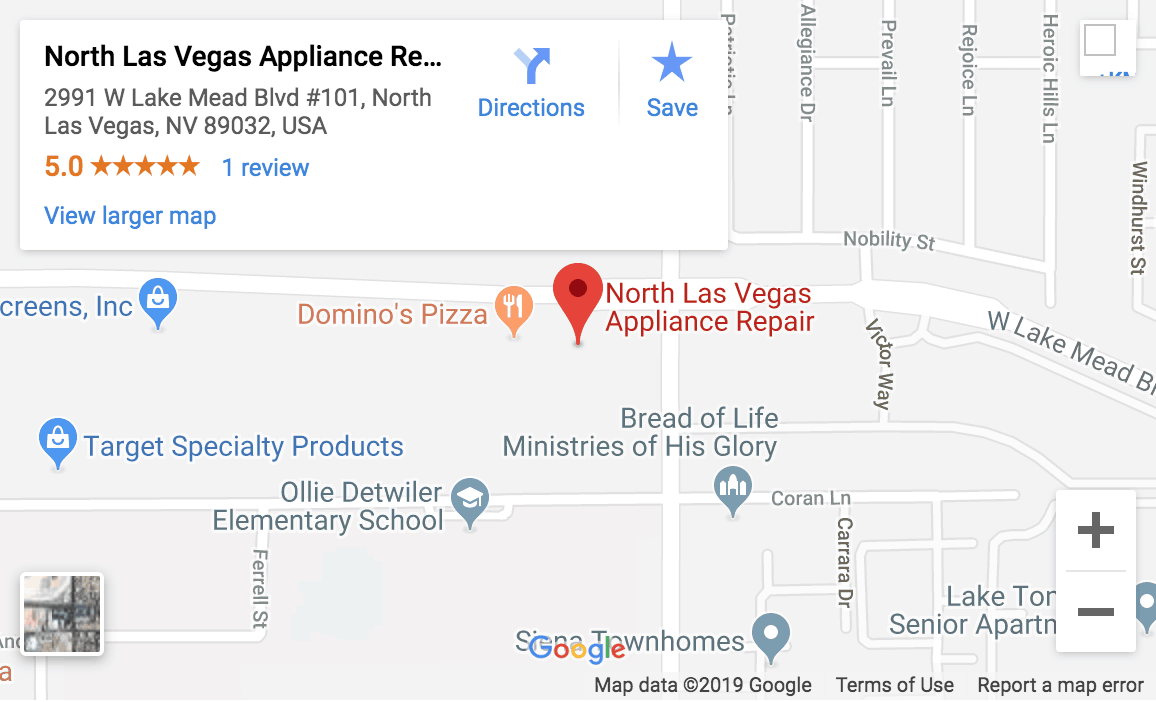 north las vegas map
